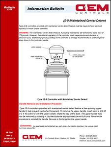 HJS9 Dual Axis Joystick Controller I Products I OEM Controls