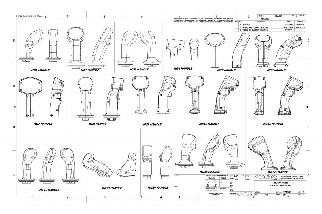 mg handle styles